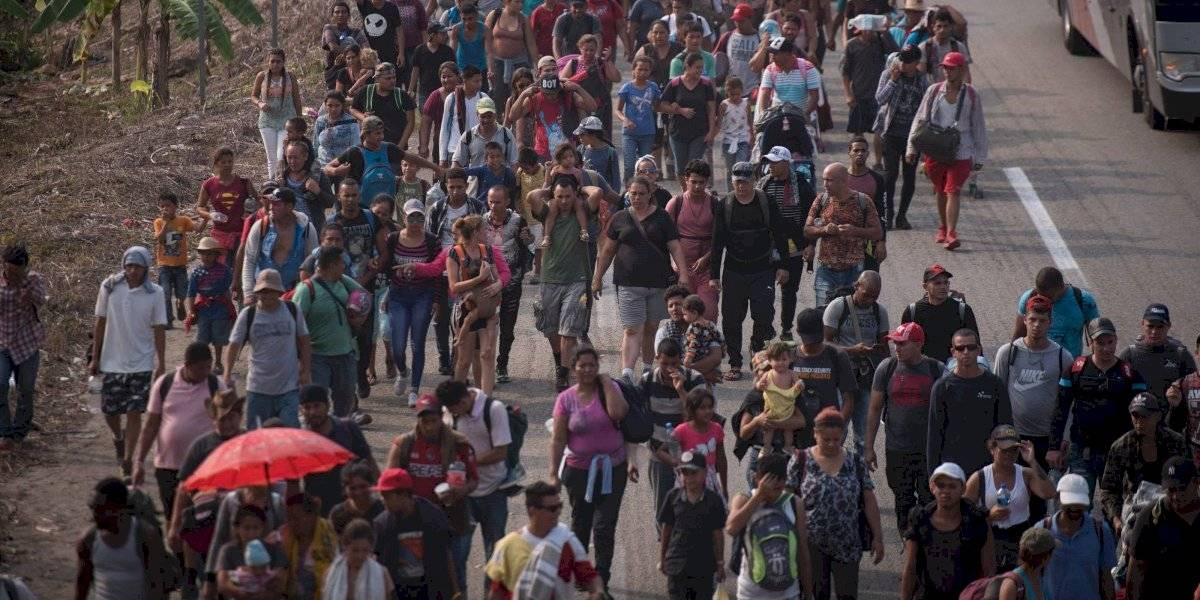 Reporta Segob inédito flujo migratorio en México; pide respetar leyes