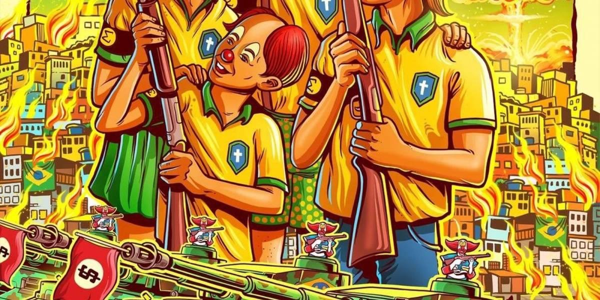 Após polêmica com cartaz político, Dead Kennedys cancela todos os shows no Brasil