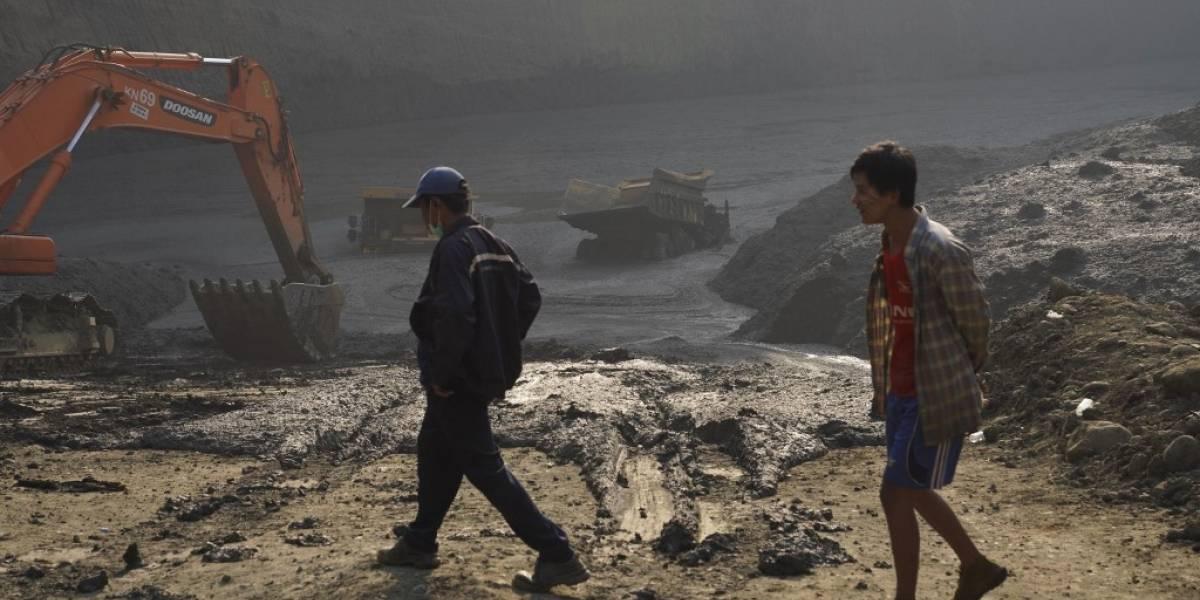 Deslave en mina de Birmania deja más de 50 desaparecidos