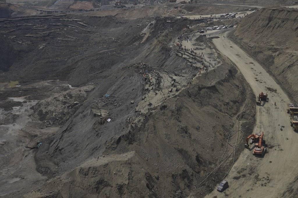 Deslave en mina de Birmania