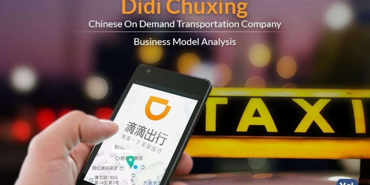 Compañía de transporte China DiDi llegará a Chile este 2019 para competir con Uber