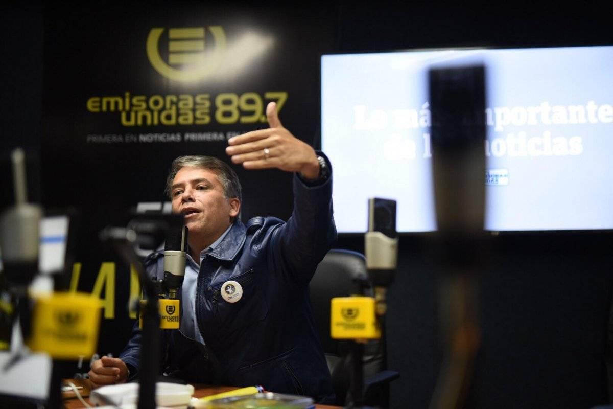 Escobar minimizó la denuncia en su contra por la Contraloría General de Cuentas.