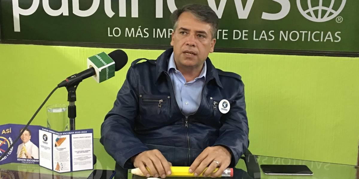 Las propuestas del alcalde Edwin Escobar a los afectados de Ciudad Peronia