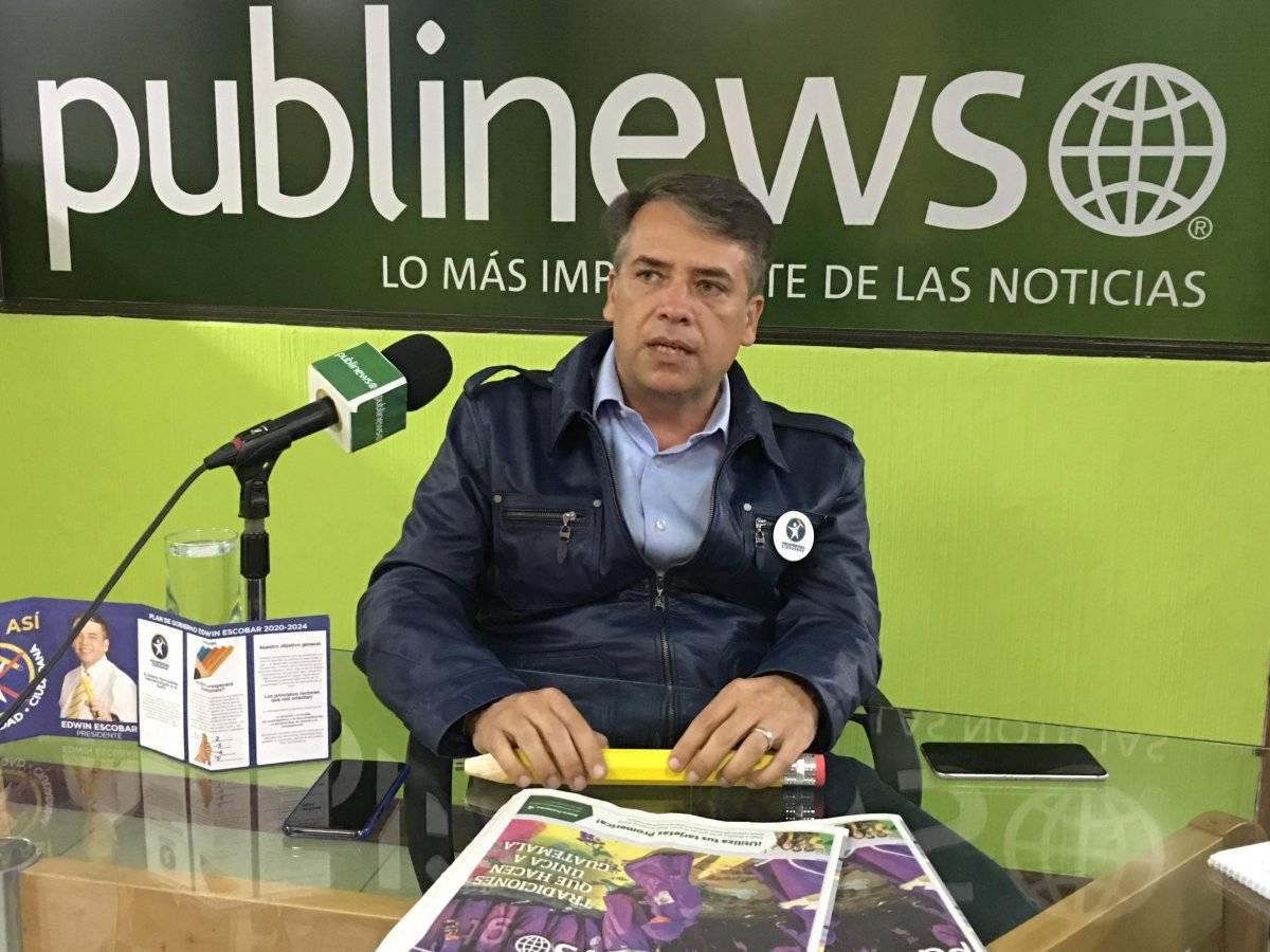 El alcalde de Villa Nueva se considera un hombre de consensos.