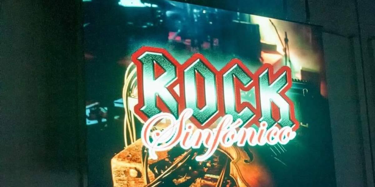 Presentan concierto Rockero Sinfónico