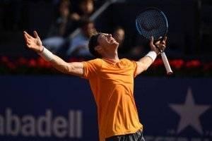 Nicolás Jarry dio un batacazo mundial y le ganó a Alexander Zverev en Barcelona
