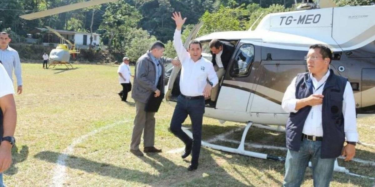Contraloría avanza en auditorías por contratación de helicópteros en el Ejecutivo