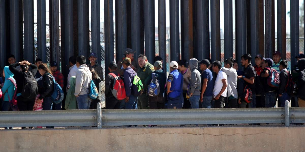 Rompe récord captura de migrantes en EU durante abril