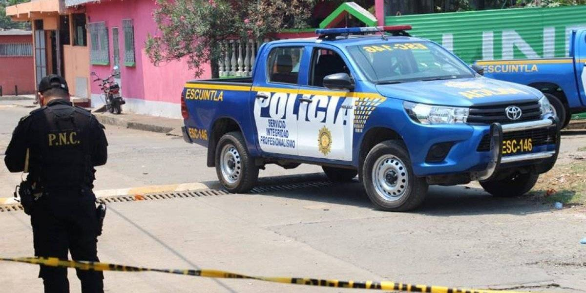 Escuintla: Menor resulta herido en enfrentamiento con agentes de la PNC