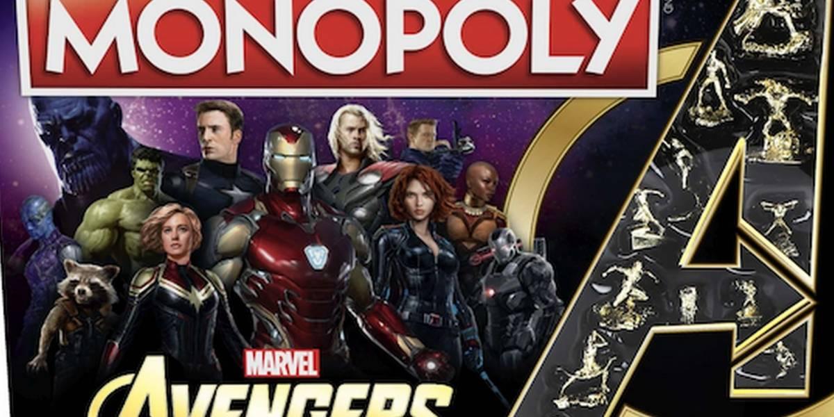 Monopoly Edición Avengers llega para celebrar el Universo Cinematográfico de Marvel