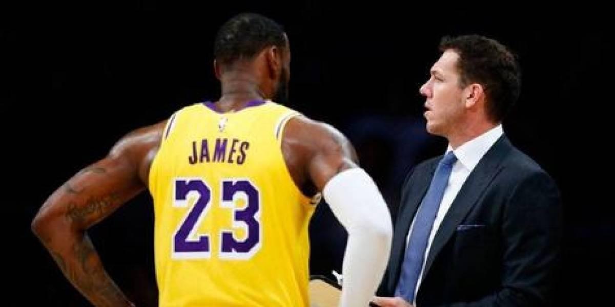 Periodista confesó abusos del ex DT de los Lakers de LeBron