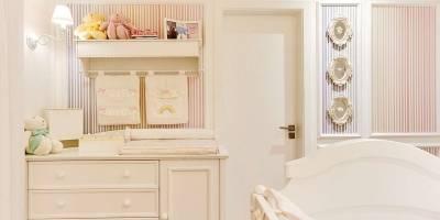 decoração do quarto da filha da cantora Thaeme