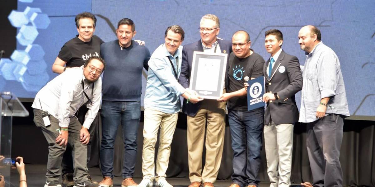 Otro récord para Jalisco; la clase de software más grande del mundo