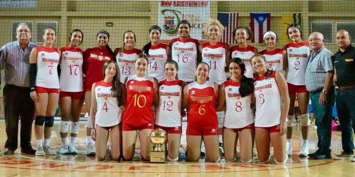Valencianas de Juncos campeonas en el voleibol juvenil