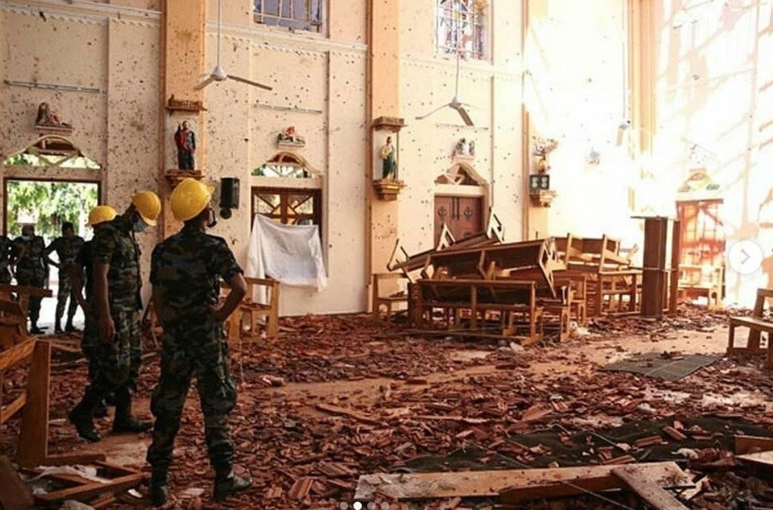 Sri Lanka atentado