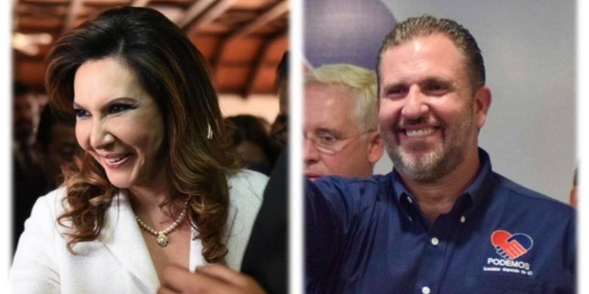 Zury Ríos y Roberto Arzú confirman reuniones en Casa Presidencial