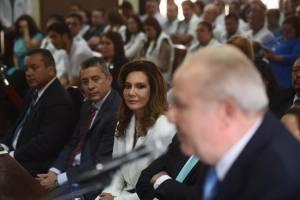 Vista pública en la CC por candidatura de Zury Ríos. Edwin Bercián