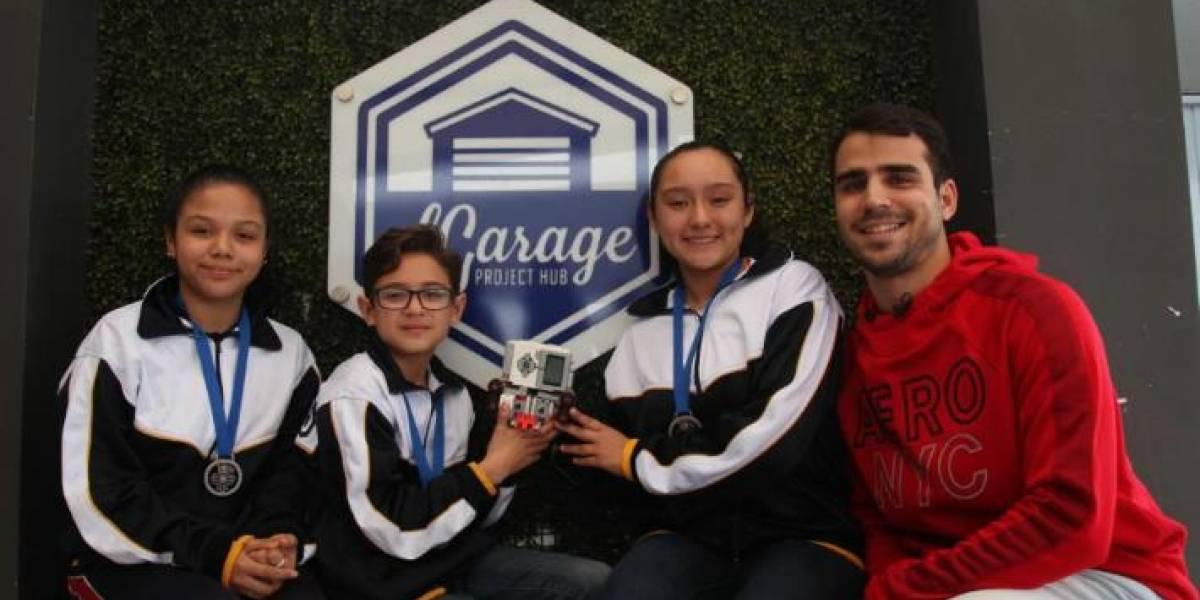 Equipo de México participará en el mundial de robótica en Rumania