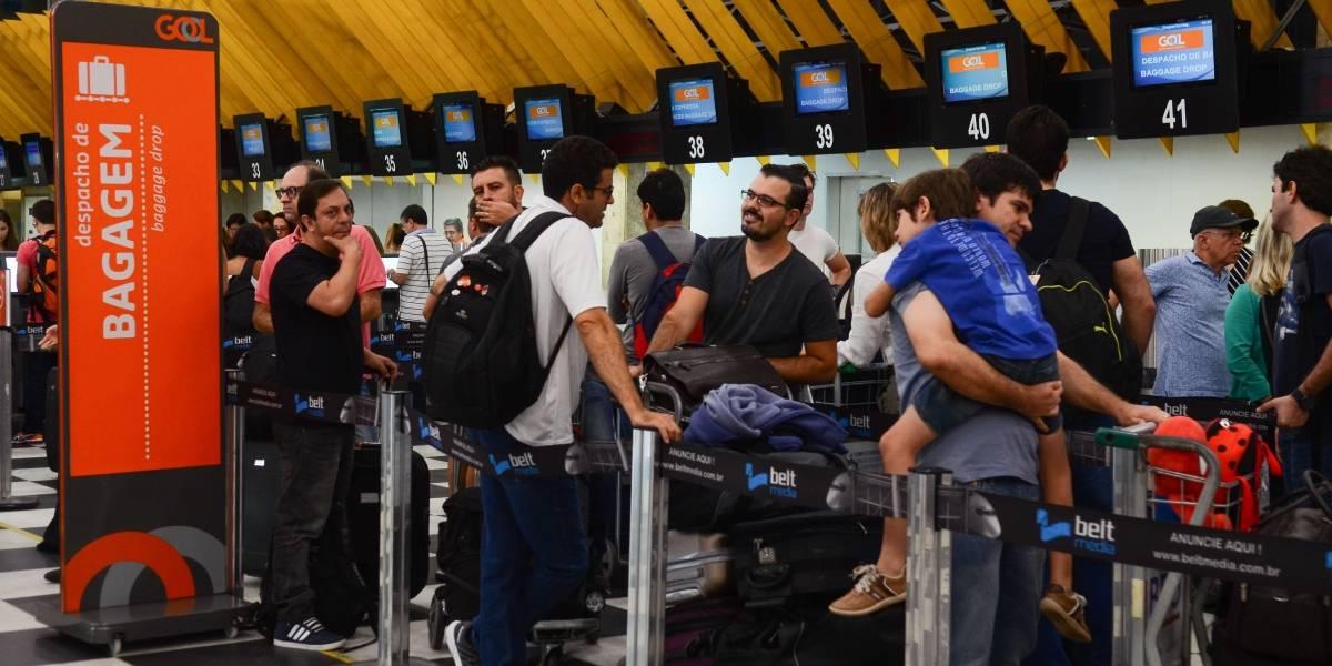Aeroportos de São Paulo têm movimento tranquilo na véspera de Carnaval