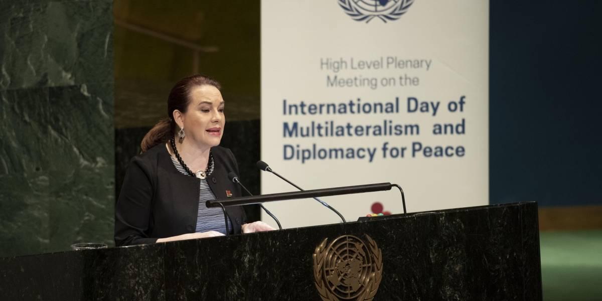 A Ecuador le cuesta medio millón de dólares tener a María Fernanda Espinosa en la ONU