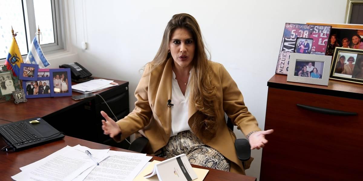 Asambleísta Cristina Reyes, pre-candidata por el PSC para las elecciones presidenciales 2021