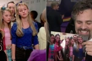 Vingadores: Ultimato: A reação de Mark Ruffalo ao descobrir que Brie Larson trabalhou em De Repente 30