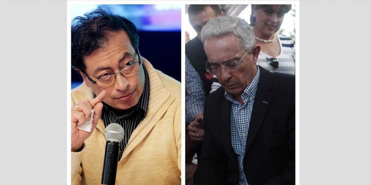"""Así le respondió Petro a Uribe luego de que lo llamó """"sicario"""""""