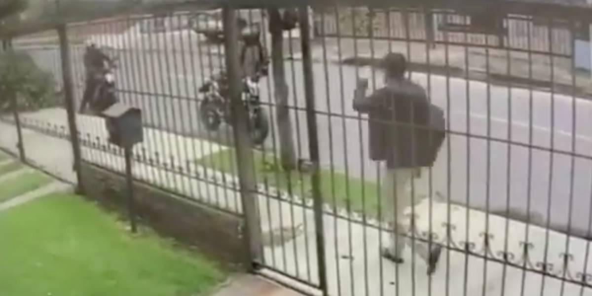 VIDEO: ladrones en moto siembran el terror en Bogotá