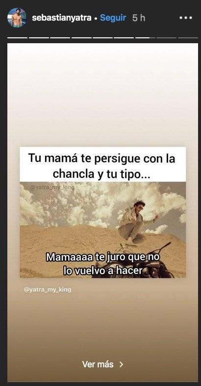 Meme de Sebastián Yatra