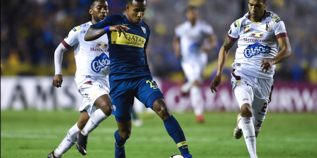 Deportes Tolima se juega mucho ante Boca Juniors en Copa Libertadores