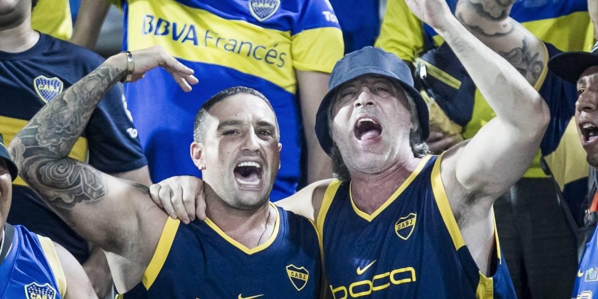 Barra brava de Boca Juniors deportado mostró su enojo y arremetió contra Colombia