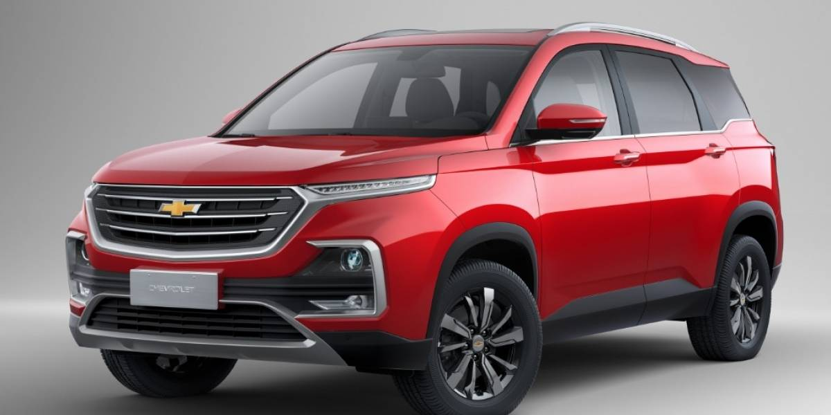 Chevrolet Captiva llegó a Sudamérica con avanzado diseño