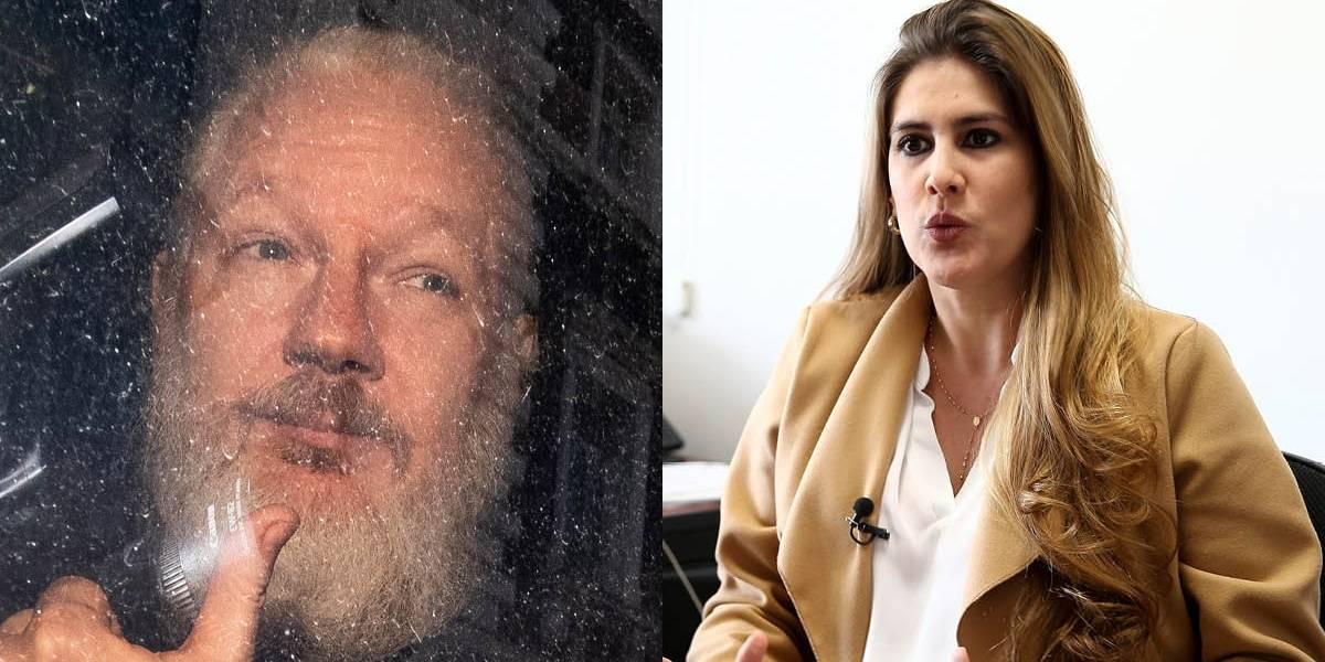 Cristina Reyes dice que con Julian Assange se retomó caso contra Maria Fernanda Espinosa