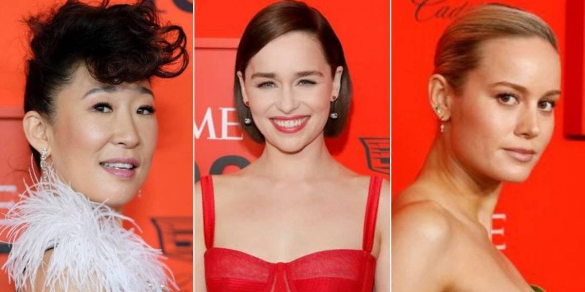 Sandra Oh, Emilia Clarke e Brie Larson arrasam em looks da gala TIME 100