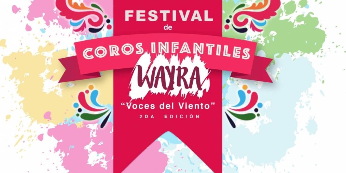 Festival de Coros Infantiles 'Wayra' se podrá disfrutar en Quito