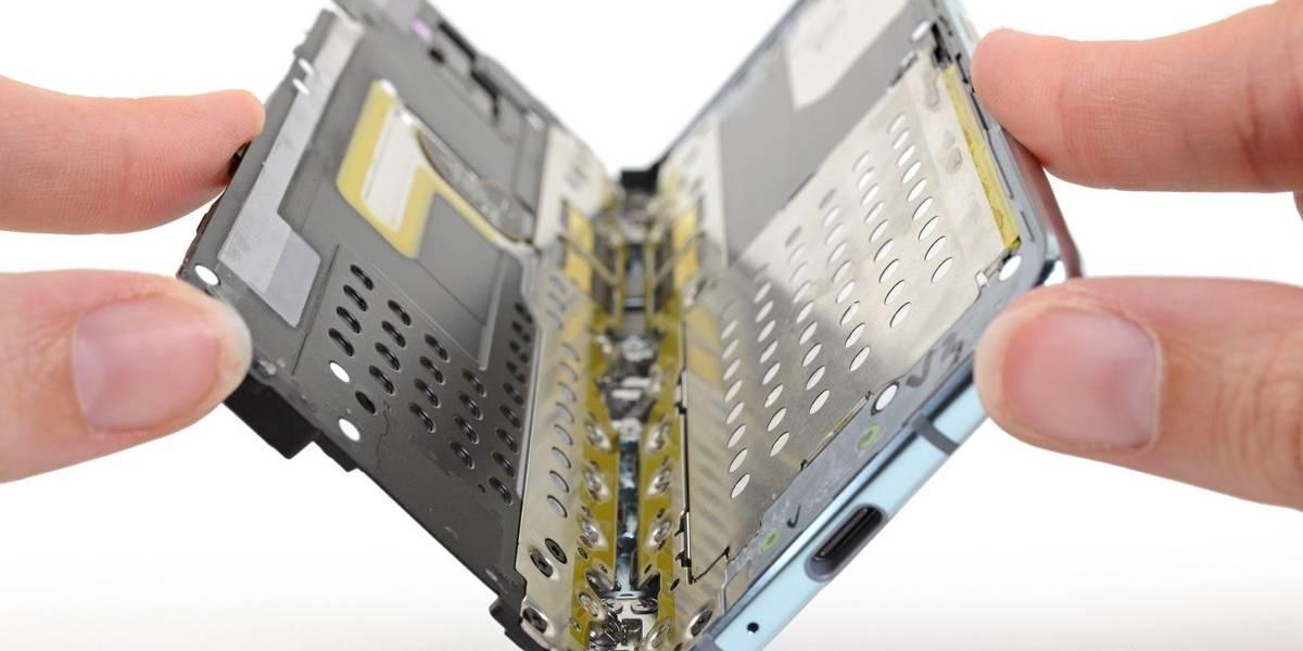 No nos gusta nada: Dicen que Samsung obligó a bajar el teardown del Galaxy Fold