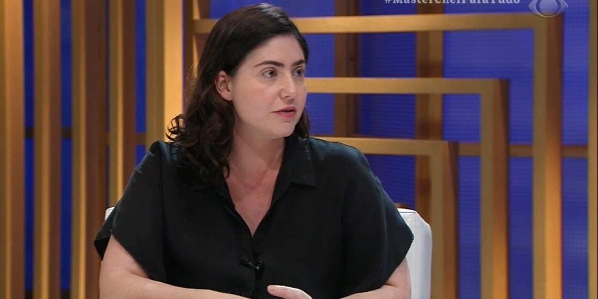 Izabel Alvares volta ao estúdio do MasterChef Brasil e internet comemora