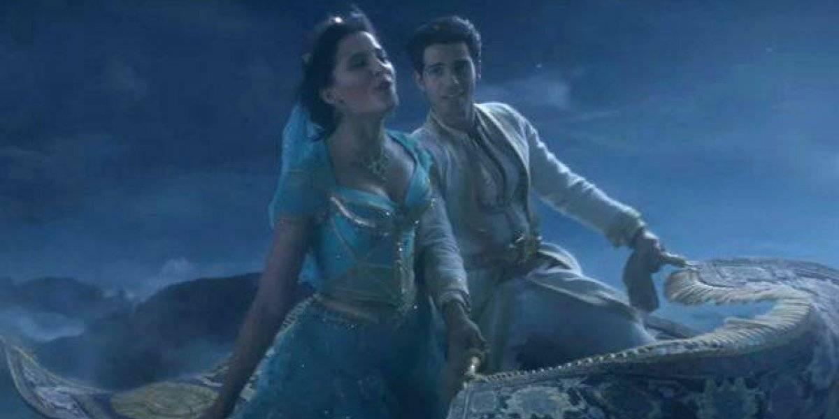 Novo teaser do live-action de 'Aladdin' mostra viagem dos protagonistas no tapete