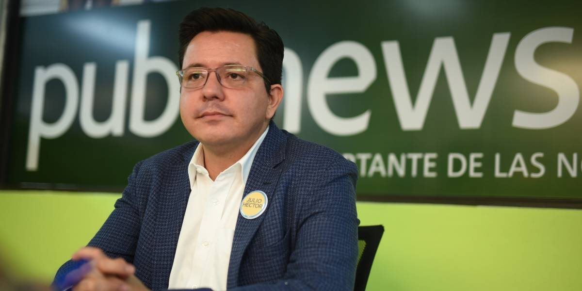 El análisis del candidato: Julio Héctor Estrada, presidenciable del partido CREO