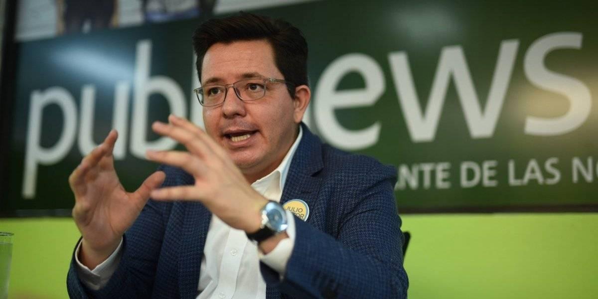 El 10 del candidato: Julio Héctor Estrada, del partido Creo