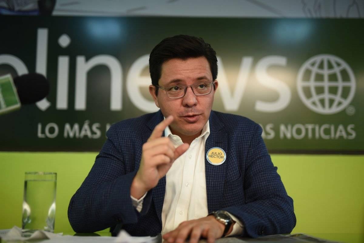Julio Héctor Estrada, de Creo