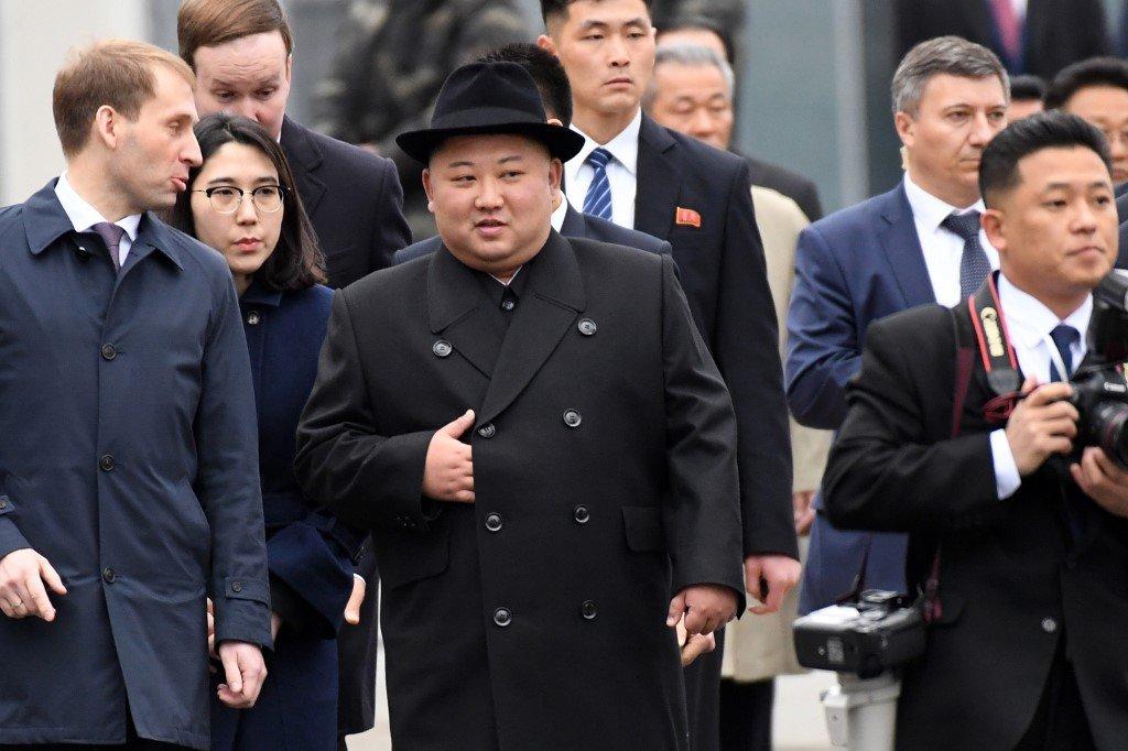 Kim Jong-un llega a Rusia