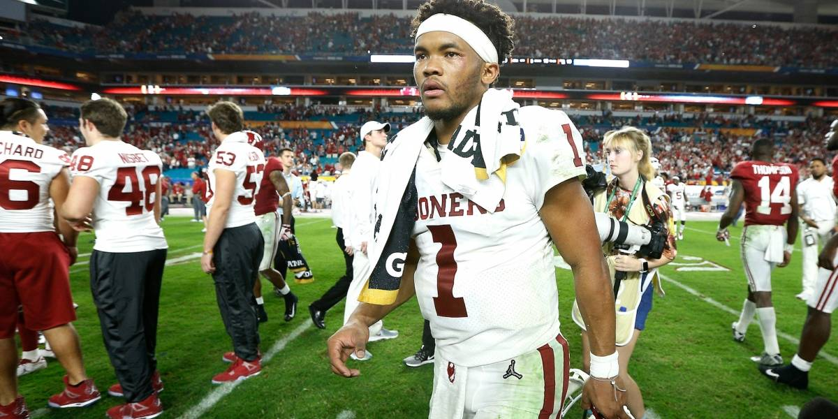 Kyler Murray es la primera selección global del Draft 2019