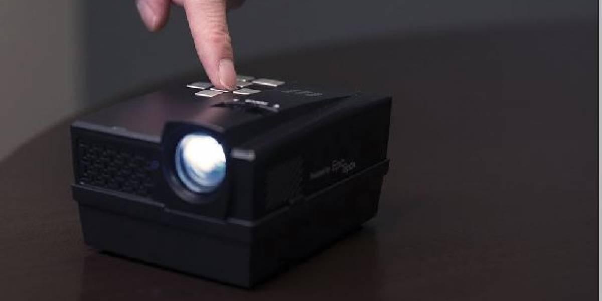 5 proyectores de bolsillo