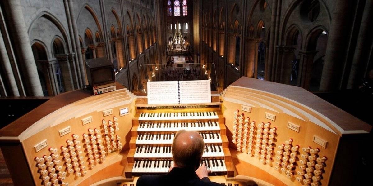 El órgano de Notre Dame salió ileso del fuego, confirma un especialista