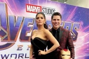 Video: Ana Bárbara hace el ridículo en el estreno de Avengers Endgame