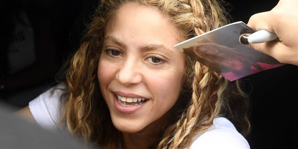 Fans publican foto de Shakira antes de operarse la nariz