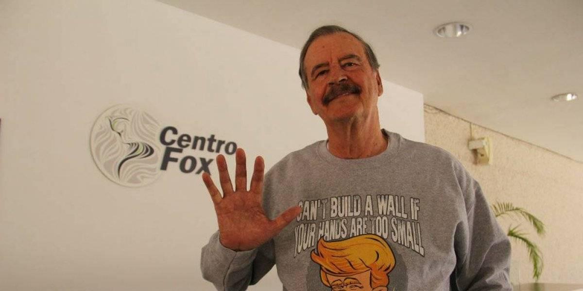 Vicente Fox pide creer en México y lo critican en redes