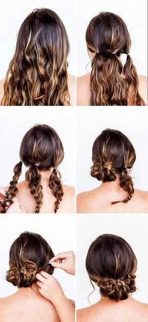 Peinados de noche