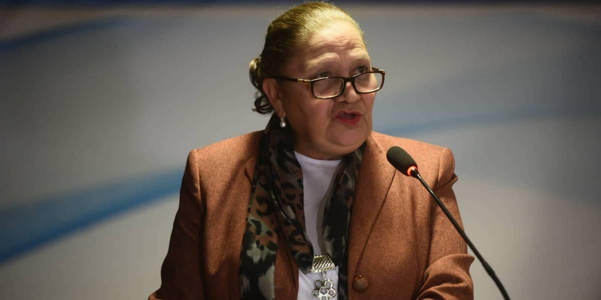 Consuelo Porras asegura falta de veracidad en las declaraciones de Thelma Aldana